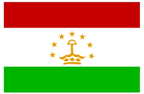 Флаг Таджикистан