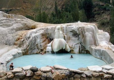 Гарм-Чашма - водолечебница в Памире (санаторий)