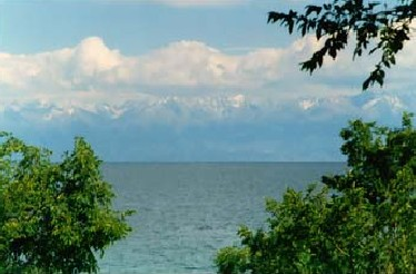 Жемчужина Центральной Азии озеро Иссык куль