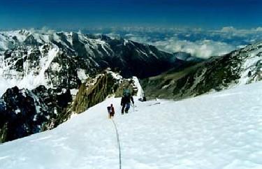 горный туризм в Кыргызстане
