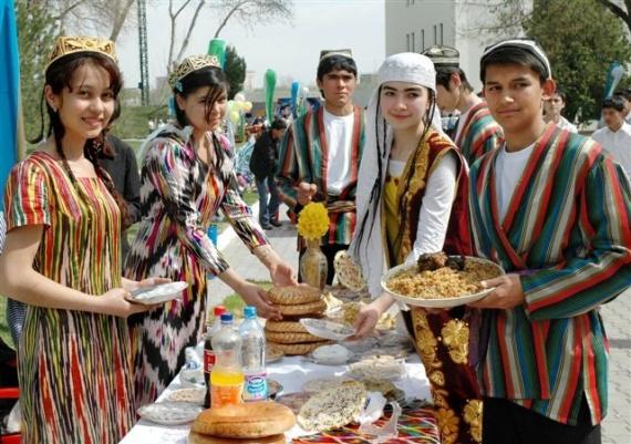 праздник Навруз в Узбекистане и в Таджикистане