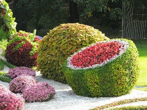 Ландшафтные работы с цветами