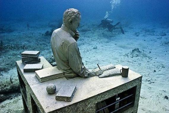 В Крыму открыт древний подводный город-музей