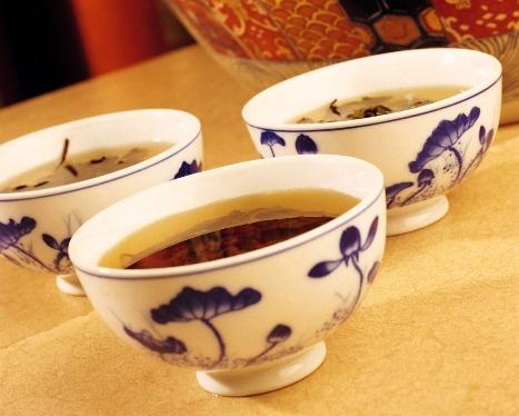 Рецепт заварки настоящего узбекского зелёного чая.