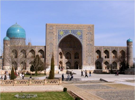 medrese tiya kori samarkand uzbekistan