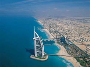 Здание Burj Al Arab. Небоскребы Дубая