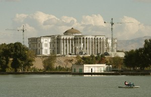 Душанбе фото. Белый дом