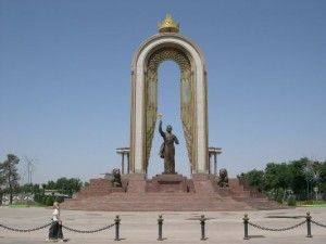 Душанбе фото. Исмоил Сомони