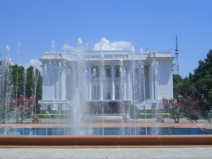 Душанбе фото. Театр оперы и балета