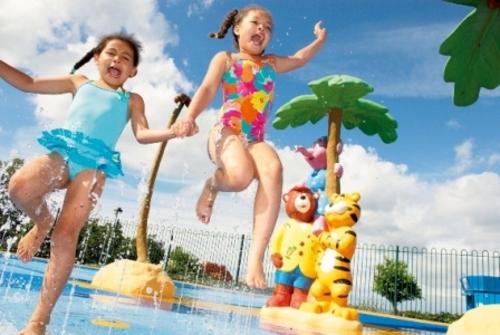 дети фото летом