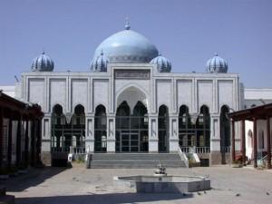 Худжанд фото. Мечеть