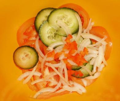 Узбекский салат Аччик чучук